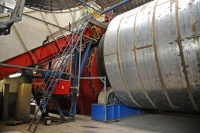 Rotating Drum for artificial drying of grasses- Hartog-Lucerne Abbekerk (NL)