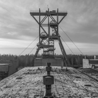 Pithead I - coal mine Slask